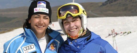 Maria Jose y Raquel Rienda