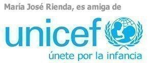 María José Rienda, es amiga de Unicef