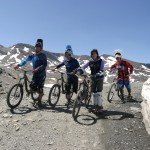 Equipo Mountain bike, foto Canito